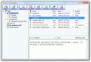 System Berberis ERP CRM BPM - klient poczty elektronicznej